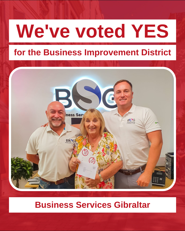 We've Voted Yes - BSG